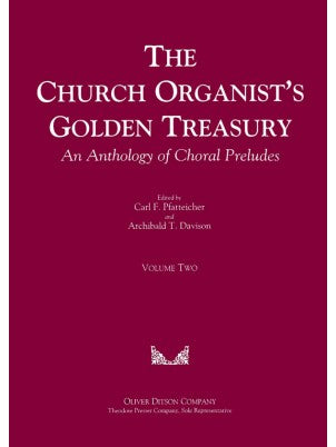 Church Organist's Golden Treasury, An Anthology of Choral Preludes Volume 2 - Mixed Organ Collection