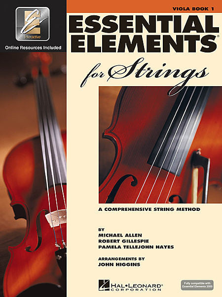Essential Elements for Strings - Book 1 with EEi Viola Essential Elements for Strings Viola Book 1, Book/CD-ROM