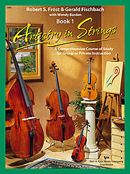 Artistry in Strings, Book 1 - Cello