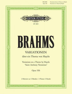 Brahms - Variations on a Theme by Joseph Haydn, Opus 56b - Piano Ensemble (2 Pianos 4 Hands)