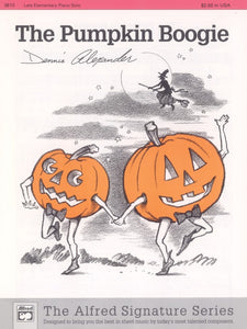 Halloween - Alexander, Dennis - The Pumpkin Boogie - Late Elementary - Piano Solo Sheet