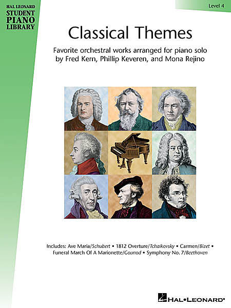 Classical Themes - Level 4 Hal Leonard Student Piano Library arranged by Fred Kern, Phillip Keveren and Mona Rejino Educational Piano Library Book