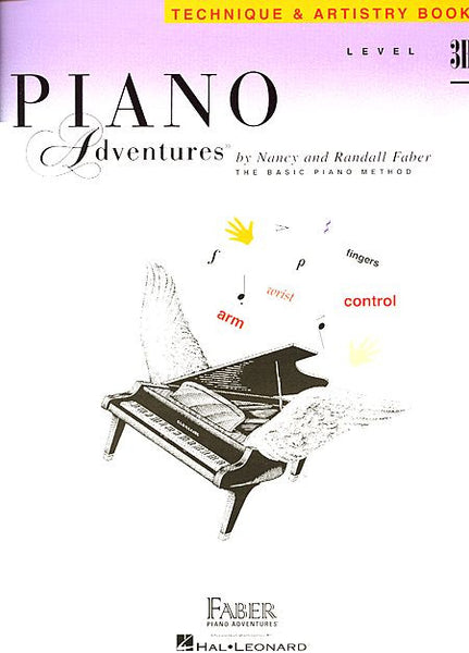 Level 3B - Technique & Artistry Book Piano Adventures Faber Piano Adventures Technique & Artistry Book