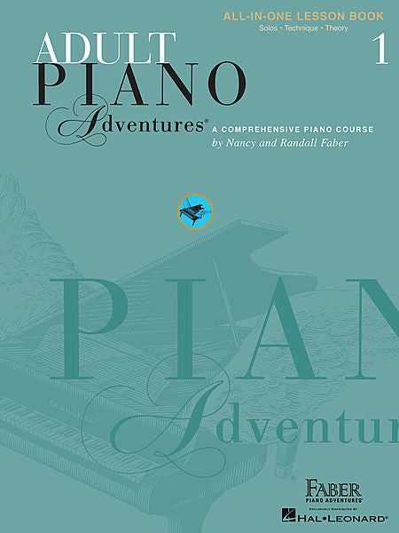 Adult Piano Adventures All-in-One Lesson Book 1 Faber Piano Adventures