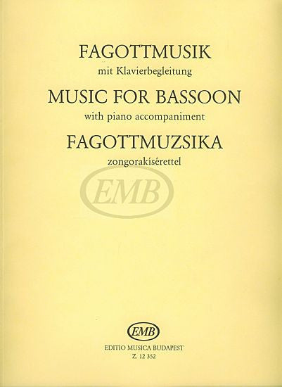 Bassoon Music (Hara) EMB