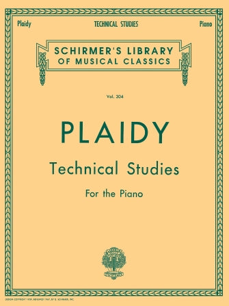 Plaidy, Louis - Technical Studies, Complete ed. Karl Klauser - Piano Method Volume*