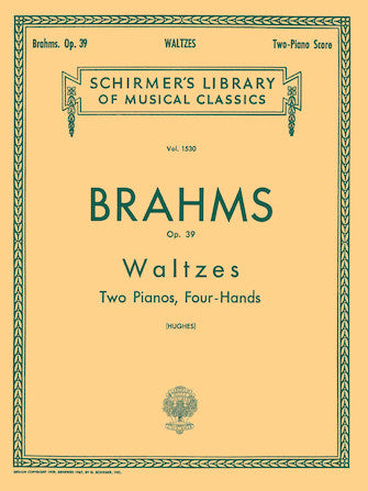 Brahms - Waltzes Opus 39 arr. by the composer - Piano Ensemble (2 Pianos 4 Hands)