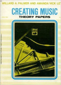 Creating Music Theory Papers, Book 2