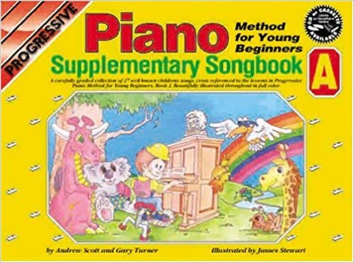 Turner, Gary / Scott, Andrew - Progressive Piano Method for Young Beginners, Piano Supplementary Songbook A - Piano Method Series w/CD*