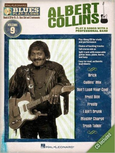 Albert Collins Blues Play-Along Volume 9 Book/CD Pack