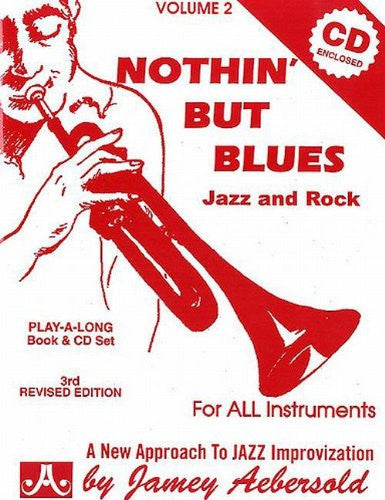 Aebersold Volume 2 - Nothin' But Blues Bk/CD