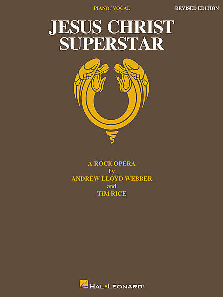 Jesus Christ Superstar - Revised Edition A Rock Opera Vocal Selections P/V/G