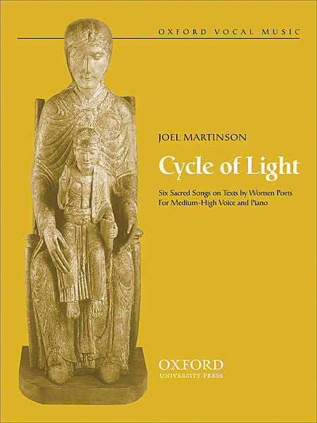 Cycle of light - Martinson, Joel - Medium-high voice Sheet Music