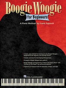 Boogie Woogie for Beginners by Frank Paparelli Keyboard Instruction