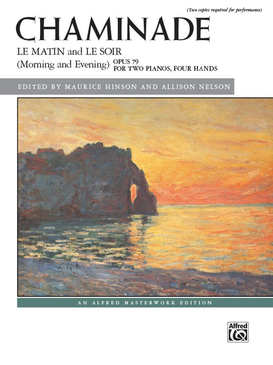 Chaminade - Le Matin and Le Soir (Morning and Evening), Opus 79 - Piano Ensemble (2 Pianos 4 Hands)