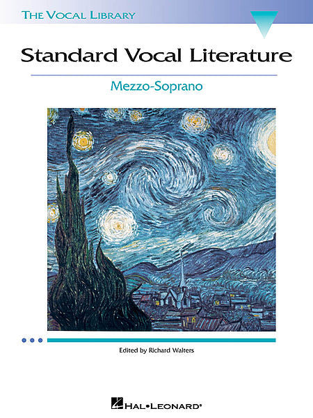 Standard Vocal Literature - An Introduction to Repertoire Mezzo-Soprano Book/CD Packs edited by Richard Walters Vocal Collection Mezzo-Soprano