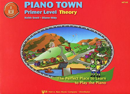 Piano Town: Theory, Primer Level - Piano Method Series*