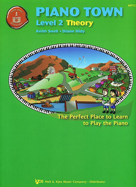 Piano Town, Theory-Level 2 - Keith Snell