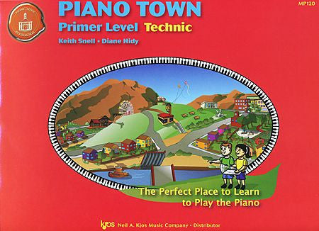 Piano Town, Technic-Primer - Keith Snell
