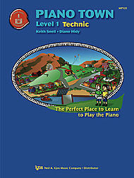 Piano Town, Technic-Level 1 - Keith Snell