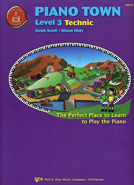 Piano Town, Technic-Level 3 - Keith Snell