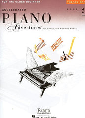 Accelerated Piano Adventures for the Older Beginner Theory Book 2 Faber Piano Adventures Theory Book 2