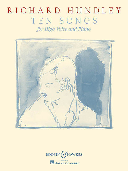 Richard Hundley - Ten Songs for High Voice and Piano for High Voice and Piano Boosey & Hawkes Voice