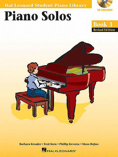 Piano Solos Book 3 - Book/Enhanced CD Pack Hal Leonard Student Piano Library Educational Piano Library Book/Enhanced CD Pack