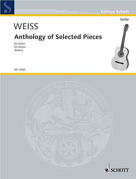 Anthology of Selected Pieces Guitar Solo (Burley) Schott