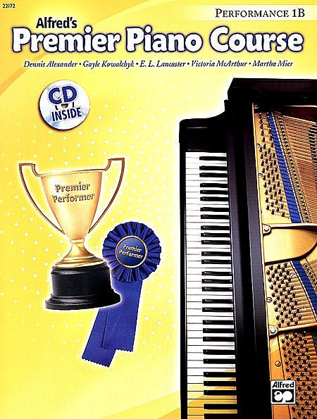Premier Piano Course: Performance Book 1B