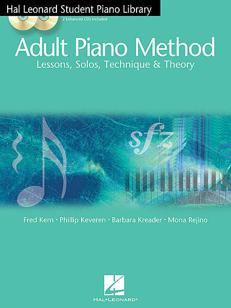 Hal Leonard Student Piano Library Adult Piano Method - Book 2/MIDI Book/MIDI Pack by Fred Kern, Phillip Keveren, Barbara Kreader, Mona Rejino Educational Piano Library Book/MIDI Pack