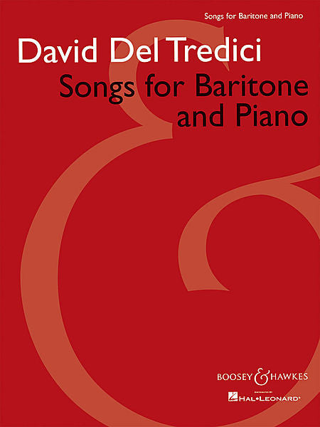 Songs for Baritone and Piano Boosey & Hawkes Voice