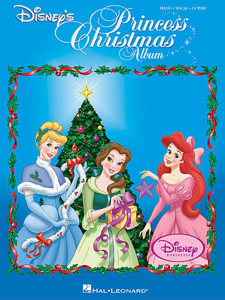 Disney's Princess Christmas Album Piano/Vocal/Guitar Songbook P/V/G