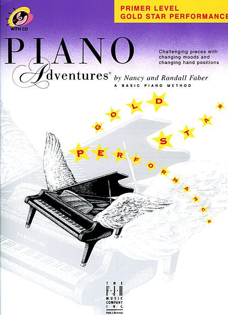 Primer Level - Gold Star Performance Piano Adventures Faber Piano Adventures Gold Star Performance with CD