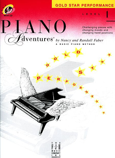 Level 1 - Gold Star Performance with CD Piano Adventures Faber Piano Adventures Gold Star Performance with CD