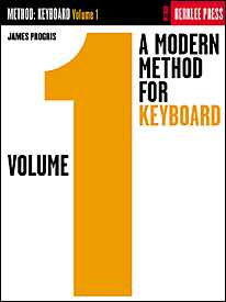 Progris, James - A Modern Method for Keyboard, Volume 1 - Piano Method Series (POP)