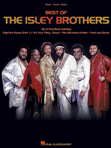 Best of the Isley Brothers Piano/Vocal/Guitar Artist Songbook P/V/G