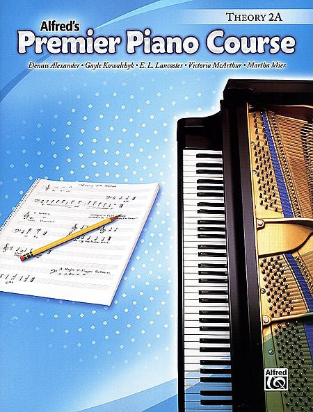 Premier Piano Course: Theory Book 2A