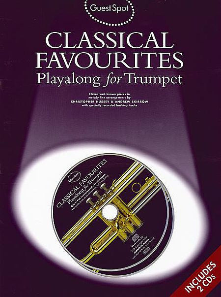 Classical Favorites Guest Spot Series Guest Spot Series Book/2-CDs Pack Music Sales America Trumpet