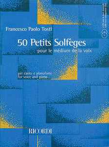 50 Petits Solfeges Voice and Piano Vocal Book/2 CDs Pack