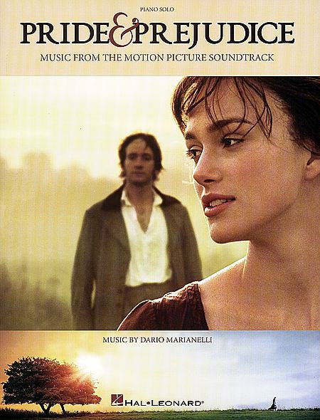 Pride & Prejudice Music from the Motion Picture Soundtrack Piano Solo Songbook Piano Solo