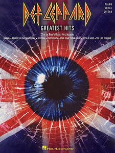 Def Leppard - Greatest Hits Piano/Vocal/Guitar Artist Songbook P/V/G