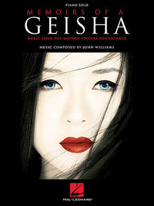 Memoirs of a Geisha Music from the Motion Picture Soundtrack Piano Solo Songbook Piano Solo