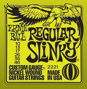 Ernie Ball Regular Slinky, Electric Guitar Strings