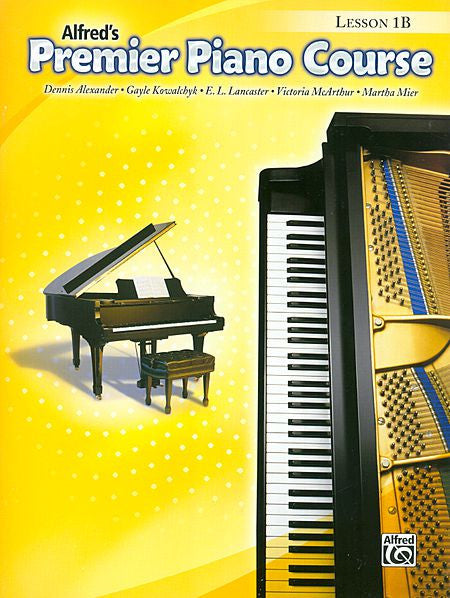 Premier Piano Course: Lesson Book 1B