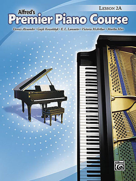 Premier Piano Course: Lesson Book 2A