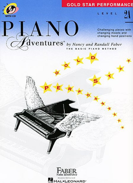 Level 2A - Gold Star Performance with CD Piano Adventures Faber Piano Adventures Gold Star Performance with CD
