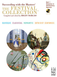 Festival Collection, Book 1, The - various Mixed - Piano Book