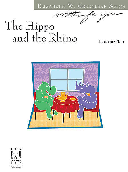 Hippo and the Rhino, The - Elizabeth W. Greenleaf - Piano Solo Sheet