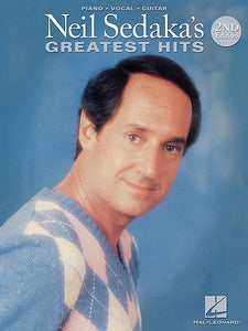 Neil Sedaka's Greatest Hits - 2nd Edition Piano/Vocal/Guitar Artist Songbook P/V/G